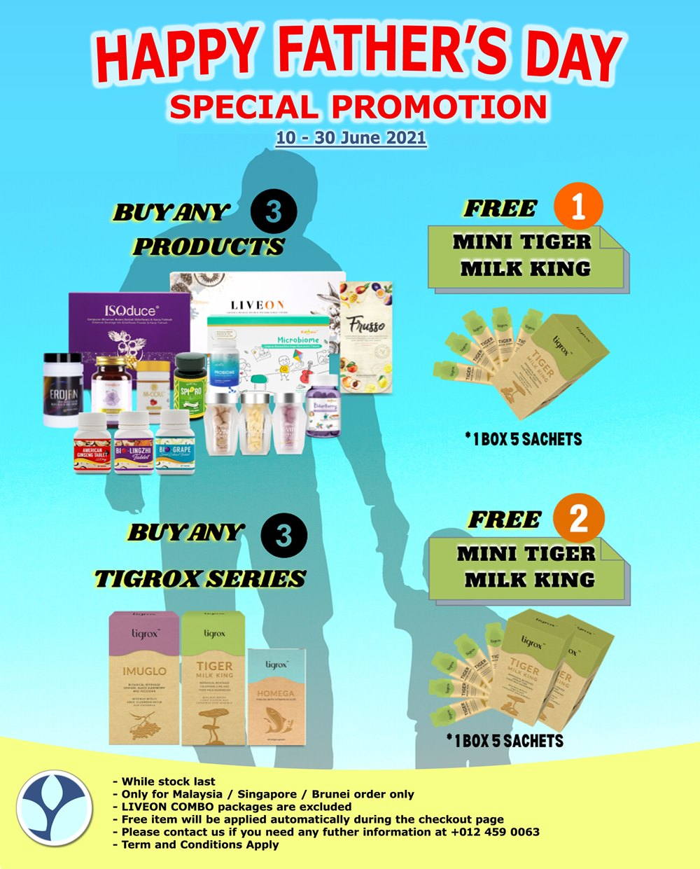 Wellous Fathers day promotion 2021