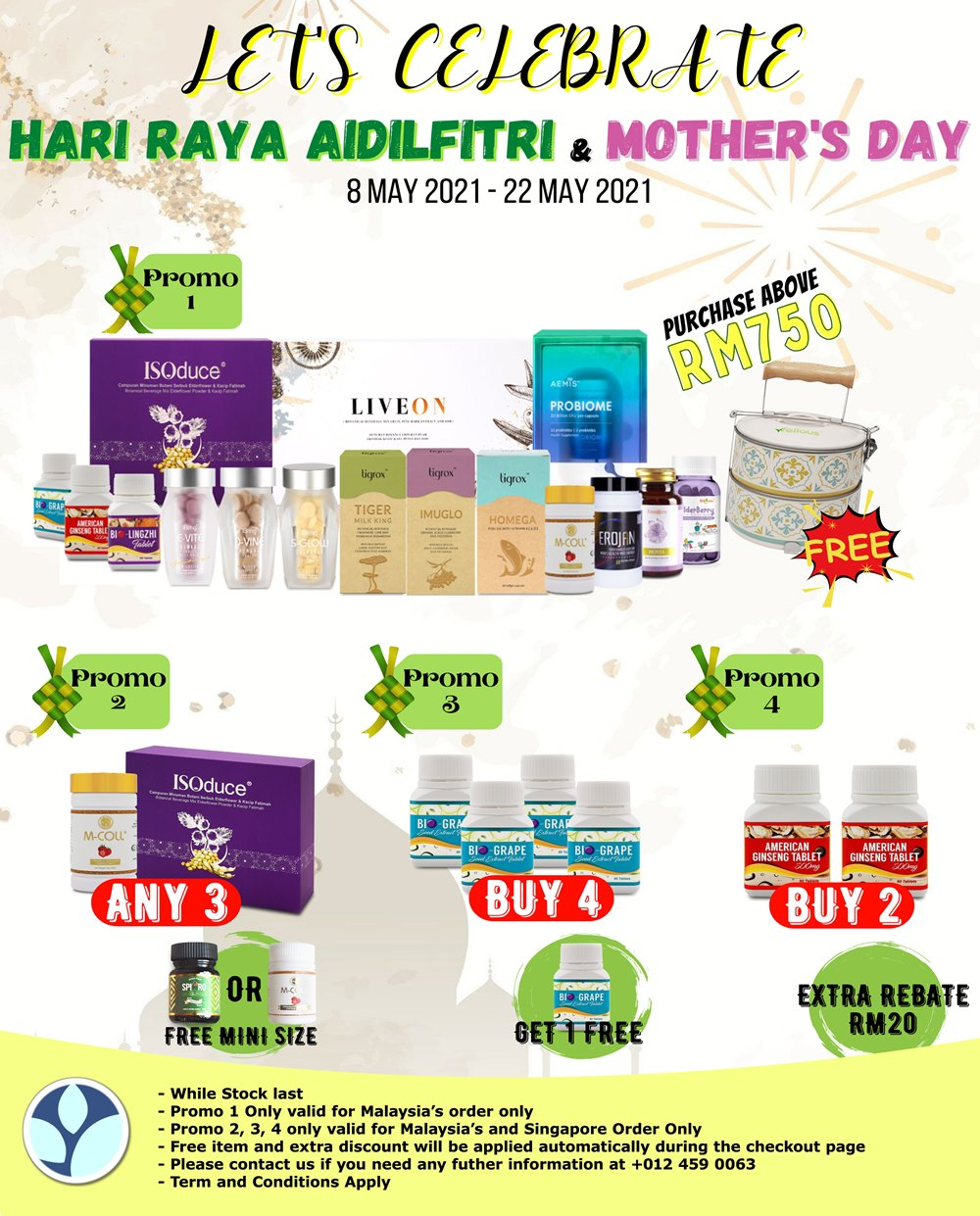 Wellous Raya mothers day Promotion