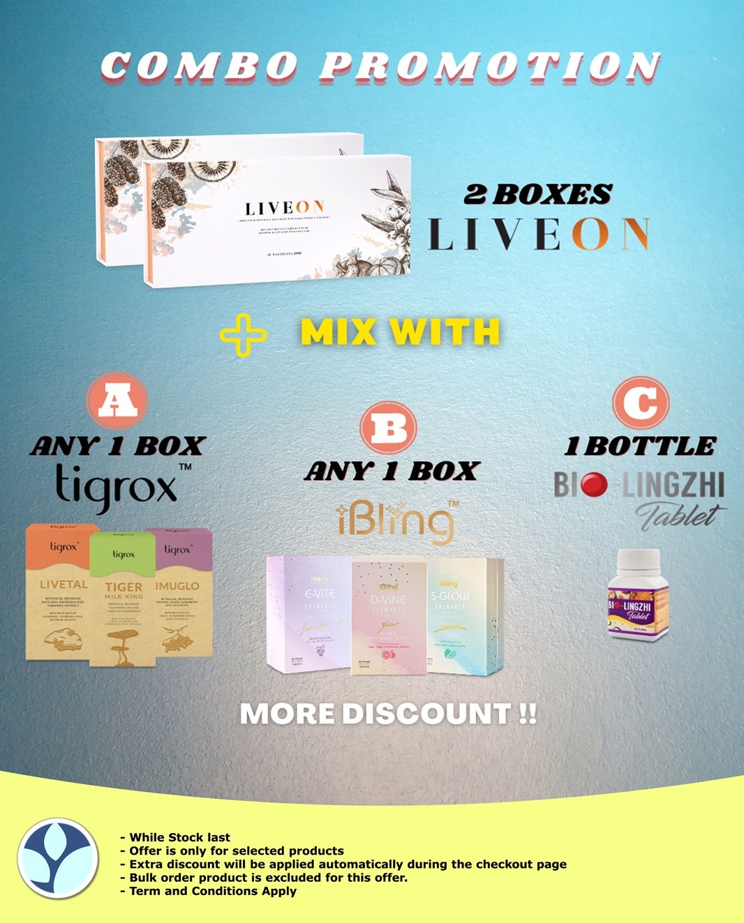 Liveon Package Promotion